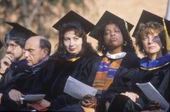 Femmes au de remise des diplômes, Image libre de droits