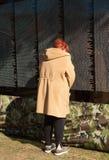 Femmes au mur mobile pour la guerre de Vietnam photo libre de droits