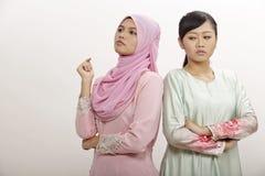 Femmes avec l'argument Photos stock