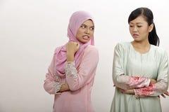 Femmes avec l'argument Photographie stock