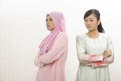 Femmes avec l'argument Photo libre de droits