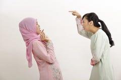Femmes avec l'argument Image libre de droits