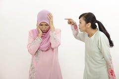 Femmes avec l'argument Photos libres de droits