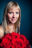 Femmes avec le bouquet Images libres de droits