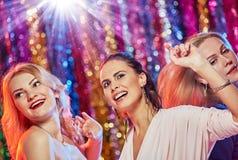 Femmes ayant la partie drôle Photo libre de droits
