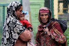 Femmes cachemiriens Photographie stock libre de droits