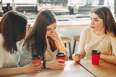 Femmes calmant leur ami de renversement Images stock