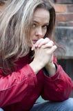 Femmes déprimés Image stock