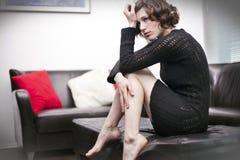 Femmes déprimés Images libres de droits