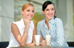 Femmes d'affaires avec du café Photos libres de droits