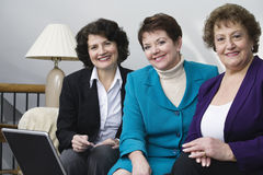 Femmes d'affaires mûres Images libres de droits