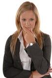 Femmes d'affaires pensives Photos stock