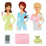 Femmes d'affaires réglées Image libre de droits