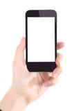 Femmes d'affaires tenant le téléphone intelligent photo libre de droits