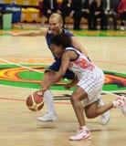 femmes d'euroleague de basket-ball Photographie stock libre de droits