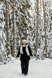 Femmes dans la forêt Photographie stock