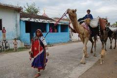 Femmes de Banjara en Inde Images libres de droits