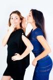 Femmes de bavardage Image libre de droits
