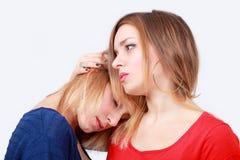 Femmes de consolation Images stock