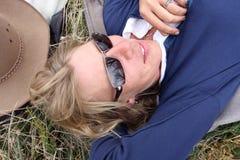 femmes de curseurs de cheval Photographie stock
