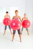 femmes de forme physique Photo stock