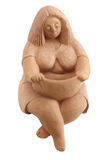 Femmes de graisse d'argile Photo libre de droits
