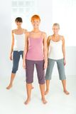 femmes de groupe jeunes images stock