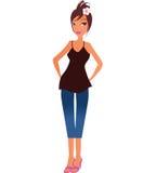 femmes de jeans Photo libre de droits