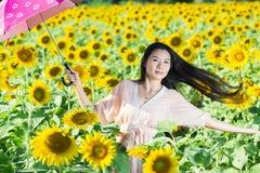 femmes de l'Asie de portrait Images stock
