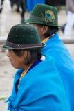 Femmes de l'ethnie de Métis dans Otavalo, Equateur Photos stock