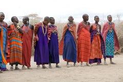 Femmes de masai photographie stock libre de droits