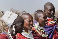 Femmes de masai Photo libre de droits