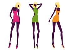 Femmes de mode Photographie stock