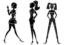 Femmes de mode Photos libres de droits