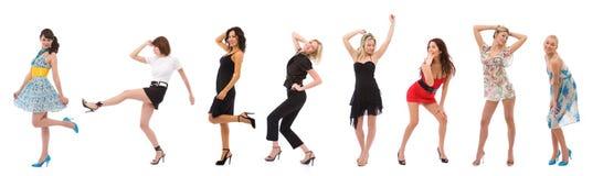 Femmes de mode photographie stock libre de droits