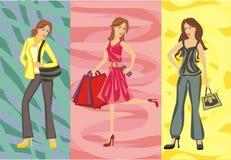 Femmes de mode Photo stock