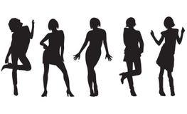 Femmes de mode Images libres de droits