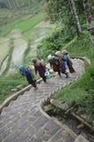 Femmes de Naga de Kampung Image libre de droits