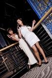femmes de réception Photographie stock libre de droits