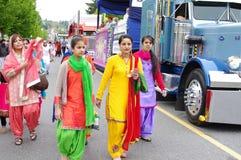 Femmes de Sikhisme Image stock