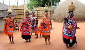 Femmes de village Images stock
