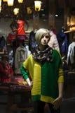 Femmes de vitrine d'exposition Photographie stock libre de droits