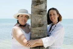 Femmes des vacances Image libre de droits