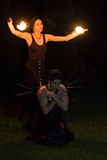 Femmes du feu Image stock