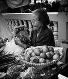 Femmes du marché Photo libre de droits