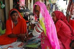 Femmes du Ràjasthàn en Inde. Photographie stock