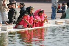 Femmes en Inde Photographie stock