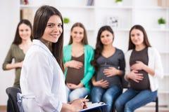 Femmes enceintes Images libres de droits