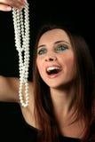 Femmes et bijou image stock