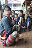 Femmes ethniques de Katu images stock